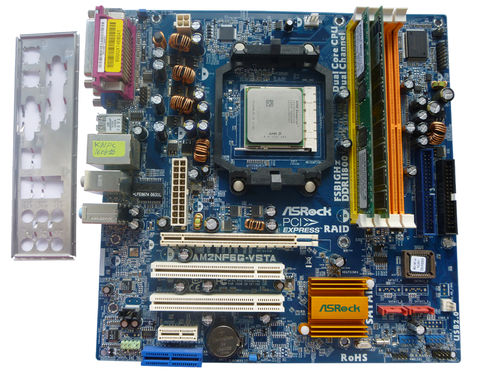 Motherboard Asrock AM2NF6G-VSTA Mainboard AMD 1,6 GHz CPU