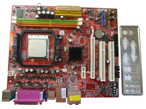 Mainboard Motherboard MS-7309 K9N6PGM2-V + CPU 2 X2,7 GHZ