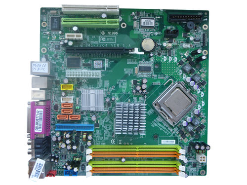 Mainboard Motherboard MS-7204 VER:1.A + Intel 3 GHz