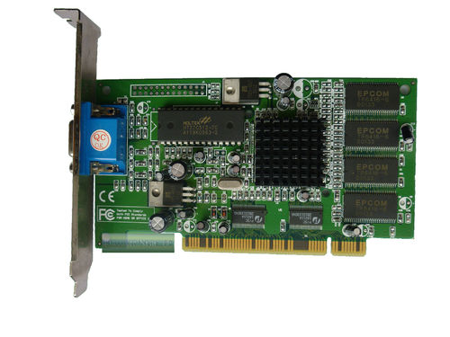 Grafikkarte NVIDIA GeForce MX200 32MB AGP VGA
