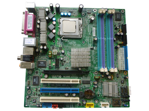 Mainboard Motherboard MSI MS-7046 VER:1 + CPU 3,2 GHz