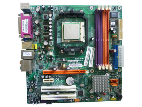 Mainboard Motherboard ACER MCP61SM-AM HT2000 + CPU 2,6GHz