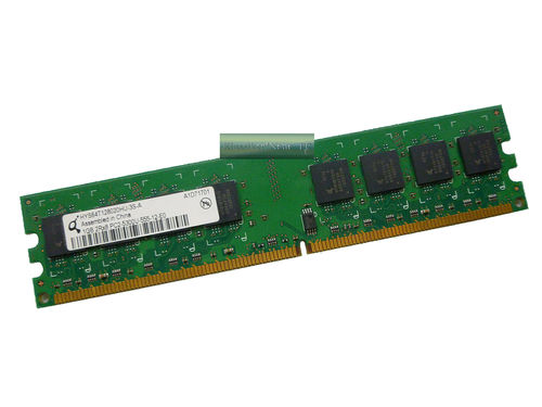 1GB Qimonda DDR2 PC2-5300U HYS64T128020HU-3S-A RAM