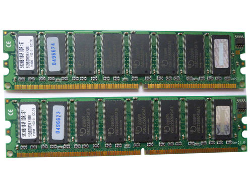 2 X 512MB Transcend 512MB 148P DDR:S7 DDR1 Arbeitsspeicher