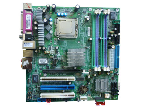 Mainboard Motherboard MSI MS-7091 VER:10 and CPU 2,8 GHz