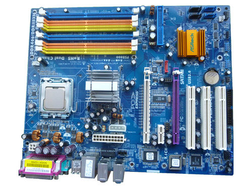 Mainboard ASRock775i915P-SATA2 and Pentium 4 3GHz Motherboard