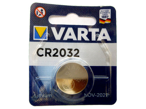 Knopf CR2032 Varta Lithium Batteriespannung: 3V 1-Pack
