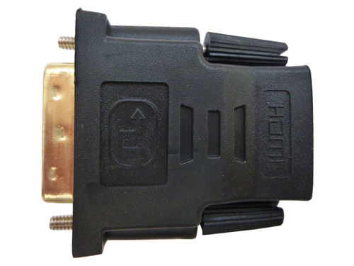 HDMI adapter DVI-D (24+1) > HDMI (ST - BU)
