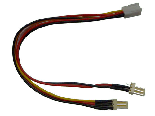 Molex Inter.Y-Kabel 3-Pin Lüfter Adapter