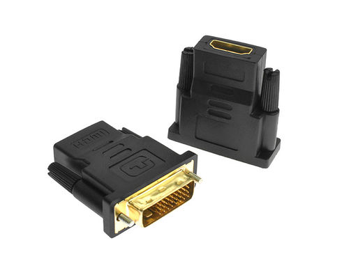 24 + 1 DVI zu HDMI Adapter vergoldet 1080P PS3 Projektor HDTV